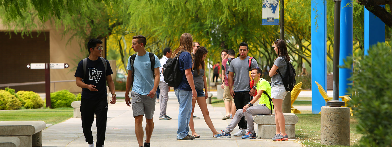 Paradise Valley students on campus